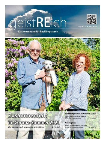 geistREich - Kirchenzeitung für Recklinghausen