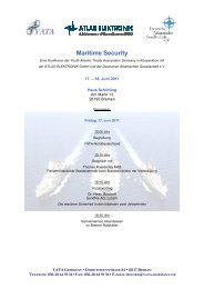 Maritime Security - YATA Germany