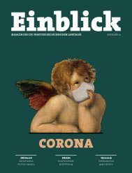 CDU-Magazin Einblick (Ausgabe 10) - Thema: Corona