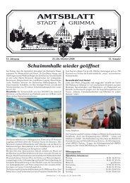 Teilnahme Grimmaer Hofweihnacht 06. bis 14.12.2008 - Stadt Grimma