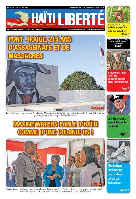 Haiti Liberte 3 Juin 2020