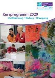 Kursprogramm 2020