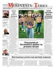 Mountain Times - Volume 49, Number 23 - June 3-9, 2020