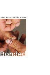 Sebura&Gartelmann: Bonded exhibition catalog