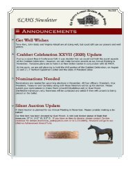 ECAHS May 2020 Newsletter