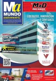 Mundo Automotriz La Revista No. 240 Marzo 2016