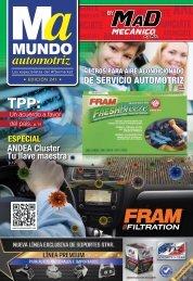 Mundo Automotriz La Revista No. 241 Abril 2016