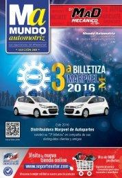 Mundo Automotriz La Revista No. 249 Diciembre 2016