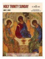 Holy Trinity Sunday