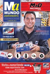 Mundo Automotriz La Revista No. 248 Noviembre 2016