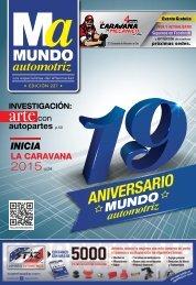 Mundo Automotriz La Revista No. 227 febrero 2015