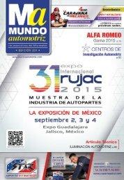 Mundo Automotriz La Revista No. 231 Junio 2015