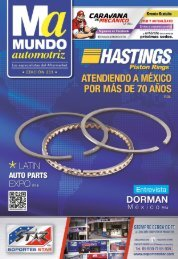 Mundo Automotriz La Revista No. 233 Agosto 2015