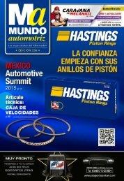 Mundo Automotriz La Revista No. 236 Noviembre 2015