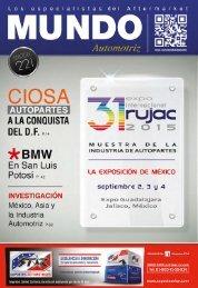 Mundo Automotriz La Revista No. 221 Agosto 2014