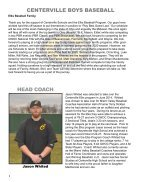 2020 Athletic Boosters - Spring Program Book - Page 6