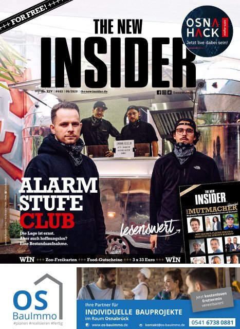 THE NEW INSIDER No. XIV, Juni 2020, #443