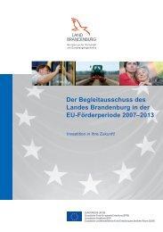 Begleitausschuss - Brandenburg, Europa und die Welt ...