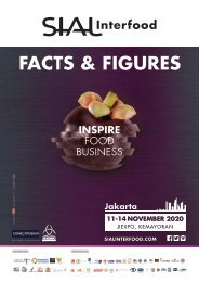 FACTS and FIGURES SIAL INTERFOOD 2020