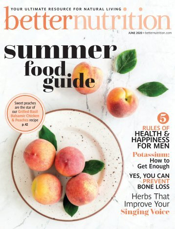 Better Nutrition June 2020