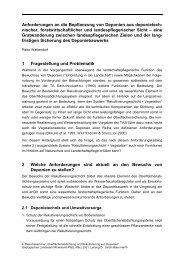 Anforderungen an die Bepflanzung von Deponien aus ...