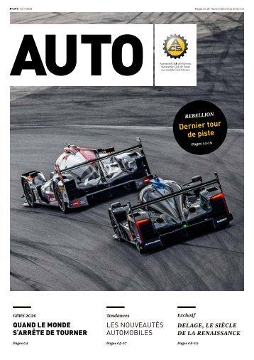 Magazine de l'Automobile Club de Suisse 2/2020