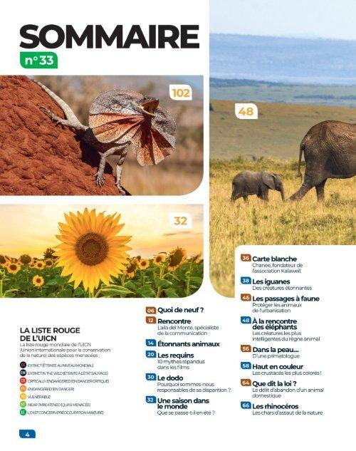 Le Monde des Animaux n°35