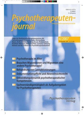 02 - Inhalt - 38 - K3.indd - Psychotherapeutenkammer NRW
