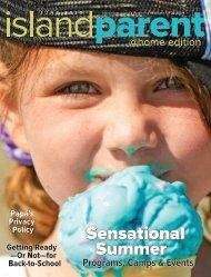 Island Parent Magazine June 20