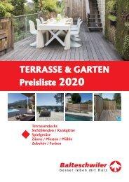 Katalog Garten & Terrasse 2020