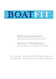 Serviceheft 2012 - Boatfit