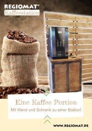REGIOMAT Kaffeestation mit Wand