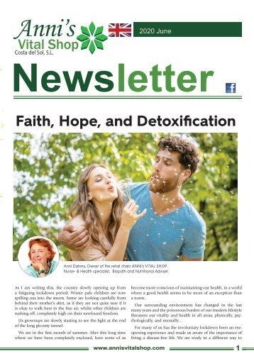 Faith, Hope, and Detoxification