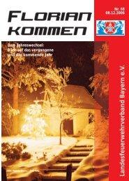 Ausgabe Nummer 68 - Landesfeuerwehrverband Bayern