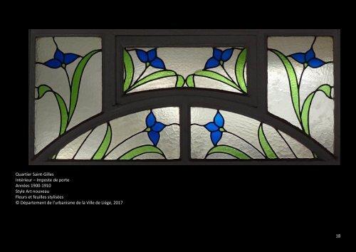 Vitraux de Liège - Partie 2 - 1890-1920 - Art nouveau