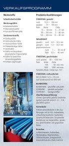 VERKAUFSPROGRAMM PRODUCT RANGE - Böhler - Page 2