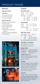 VERKAUFSPROGRAMM PRODUCT RANGE - Böhler - Page 3