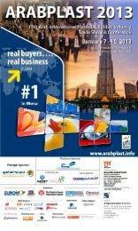 key exhibitors so far - Arabplast