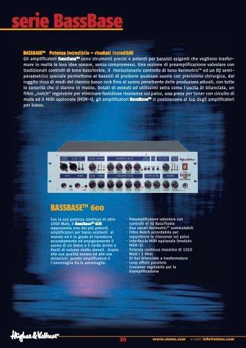 serie BassBase