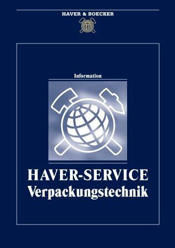 HAVER-SERVICE Verpackungstechnik - Maschinenfabrik
