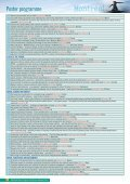 Poster programme - IWA World Water Congress & Exhibition - Page 2
