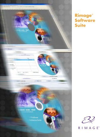 Rimage® Software Suite - Advanced World Products