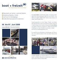 05. bis 07. Juni 2009 - ETAP Yachten - HUNTER Yachten