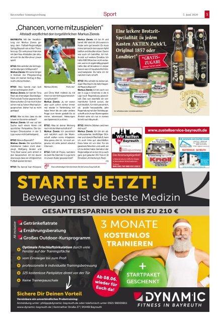 2020-06-07 Bayreuther Sonntagszeitung