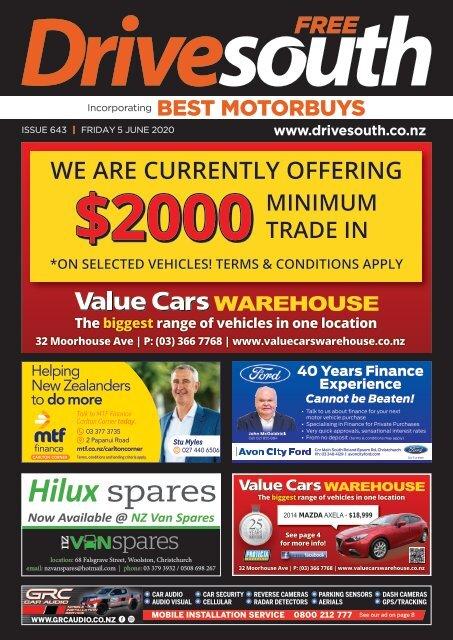 Best Motorbuys: June 05, 2020