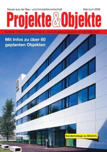Bauherrenkarte.ch - Projekte & Objekte