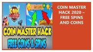 COIN MASTER HACK 2020 – FREE SPINS AND COINS