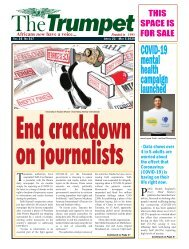 The Trumpet Newspaper Issue 517 (April 22 - May 5 2020)