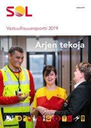 SOL Vastuullisuusraportti 2019