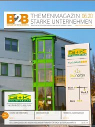 GILLIG + KELLER 40 JÄHRIGES JUBILÄUM | B2B Themenmagazin 06.2020